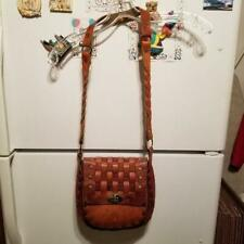 Woman's Brown Leather Shoulder bag Made in Mexico