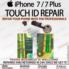 iPhone 7 7 Plus + TOUCH ID HOME BUTTON FINGERPRINT FLEX TORN CUT REPAIR SERVICE