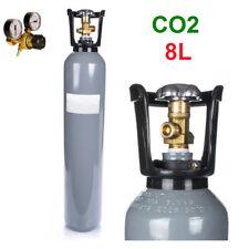 LA BOTELLA DE GAS CO2 100% 8 LITROS MEJOR CALIDAD 150 BAR + MANOMETRO