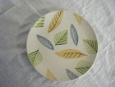 C4 Pottery Marks & Spencer Home Leaves Plate Medium (slightly chipped) 21cm 4F3C