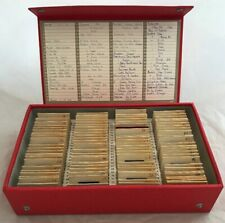 Very Rare Box of 35mm Photo Slides Africa & South Africa 1960s Missionary Worker