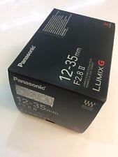 Nuevo Panasonic Lumix G Vario 12-35mm F2.8 X OIS Lente asférica af Reino Unido II Entrega