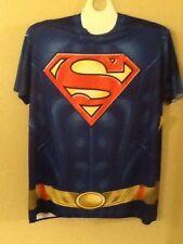Mens DC comics Superman Tee Shirt  XLarge nwt Batman New 52 Costume
