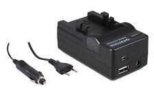 PATONA 4in1 Netzteil Ladegerät für Canon NB-1L IXUS 300 330 400 V