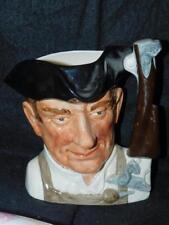 """Royal Doulton Gunsmith Character Jug Mug Williamsburg Gunsmith 7.25""""T Large"""