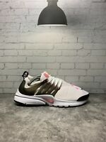 Nike Presto GS White & Pink Black Running Shoes Womens Sz 7Y 833878 105