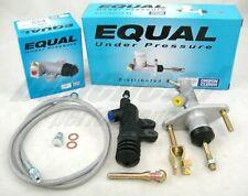 Exedy Slave, Master Cylinder & Stainless Clutch Line Kit 1992-2000 Honda Civic