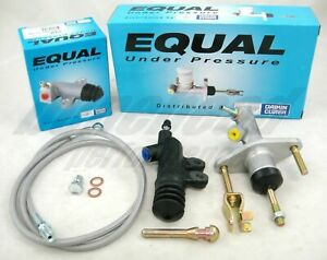 Exedy Slave, Master Cylinder & Stainless Clutch Line Kit 1992-2000 Honda Civic