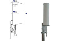Fullband MIMORAD 4G LTE External Omni-Directional 6dBi Antenna 5 metres SMA