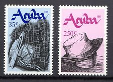 Dutch Antilles / Aruba - 1991 Local handicrafts Mi. 95-96 MNH