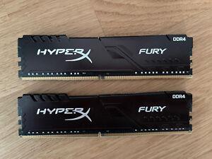 HyperX FURY RAM 32 GB Kit*(2 x 16 GB) 2666MHz DDR4 CL16 DIMM