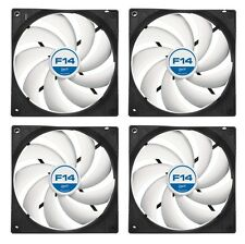 4 x Pack of Arctic Cooling F14 140mm Case Fan 1300 RPM