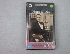 Vintage BETA Tape HOUSE OF WAX Vincent Price SEALED Warner Home Video 1984