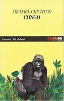 Congo, MICHAEL CRICHTON, GARZANTI LIBRI GLI ELEFANTI, COD:9788811666905