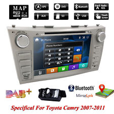 """Fit 8""""Toyota Camry 2007-2011 GPS Navigation Car Radio Stereo DVD Player+Back Cam"""
