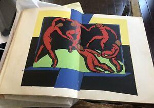 Matisse 1939 La Danse Lithograph From Verve Artbook