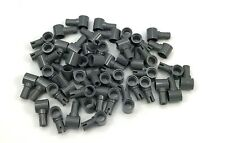 Lego Lot of 50 New Dark Bluish Gray Technic Pins with Pin Hole