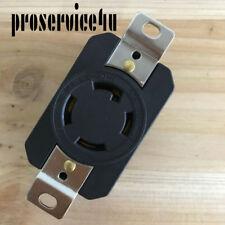 NEMA L15-30R Locking Receptacle Twist Lock Outlet L15-30R 30A 250V 3Ø CWL1530R