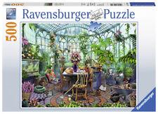 RAVENSBURGER PUZZLE*500 TEILE*IM GEWÄCHSHAUS*RARITÄT*NEU+OVP