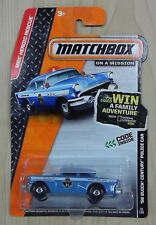 Matchbox MBX Heroic Rescue '56 Buick Century Police Car Brand New Fast Shipping!