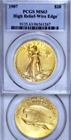 1907 High Relief PCGS MS63 As Nice as They Come █ $20 Saint Gaudens Double Eagle