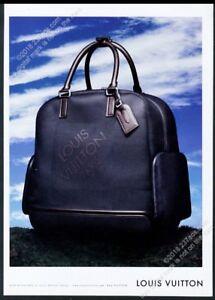 2006 Louis Vuitton luggage black bag photo vintage print ad