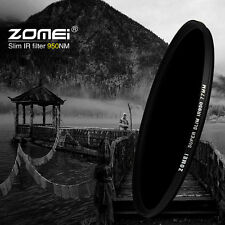 Zomei 37mm-82mm 950NM IR Filter Infrared X-RAY for DSLR Camera Photography