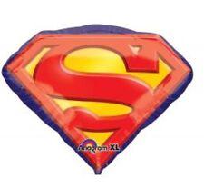 "Superman Emblem 26"" Anagram Balloon Birthday Party Decorations"