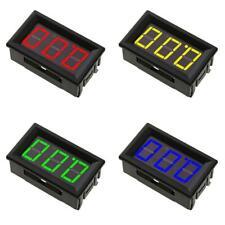 056in Mini Dc 0 100v 3 Wire Voltmeter Led Display Digital Panel Meter Sf