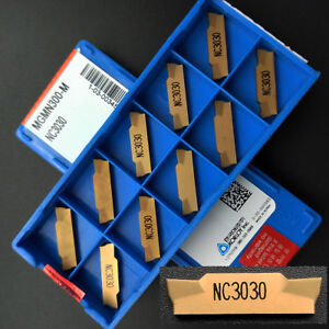 20pcs MGMN300-M NC3030 3mm wide grooving Cutting carbide turning insert cutting