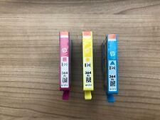 Original HP 364 XL Tintenpatronen Yellow, Magenta und Cyan