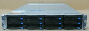 Supermicro Superserver 6027TR-HTRF 4 x Nodes 8 x 6 Core E5-2620 64GB Rack Server