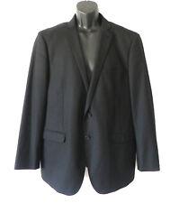 Rock & Republic Sport Coat/Blazer Black 2 Button Size 42