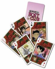 *NEW* Ouran High School Host Club Playing Cards by GE Animation