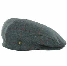 Blue Wool Flat Cap - Mucros Weavers Wool Tweed Hat, Large Trinity 177