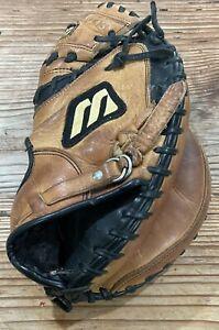 Vintage Mizuno Professional MVT C011 Catchers Glove RH Throw