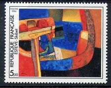 STAMP / TIMBRE FRANCE NEUF N° 2413 ** TABLEAU ART / SKIBET DE MAURICE ESTEVE