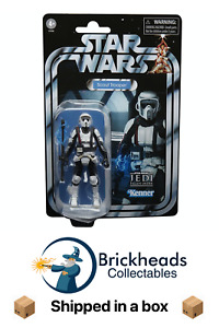 Shock Scout Trooper   Star Wars Vintage Collection Hasbro   IN STOCK