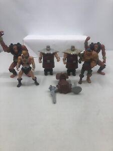 Mcdonalds He Man 200x Lot Motu Masters Of The Universe Ram Man Beast Man