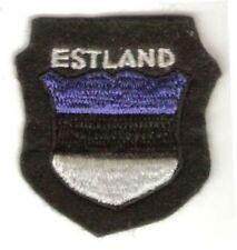 Germany & Estonia Estland Volunteers Foreign Legions Wehrmacht 3.25 X 2.5in bl f