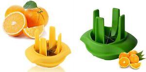 Fruit Lemon Lime Orange Slicer Wedger Cutter Garnish Convenient Kitchen Tool UK