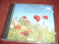 Mendelsohn String Symphonies - 5 in B Flat,7 in D Minor,8 in D - LFO/Ross Pople