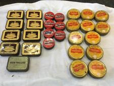 tobacco tin collection X28
