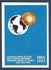 PANINI WORLD CUP STORY #015-CHILE 1962 LOGO