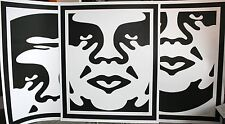 SHEPARD FAIREY ♦ ANDRE FACE ♦ 3 LITHOGRAPHIE SIGNIERT ♦ OBEY GIANT MINT