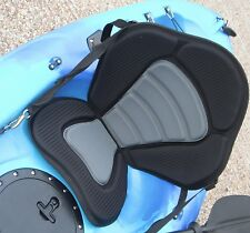 Deluxe seat to fit many sit on top kayak  New with free seat back storage pouch