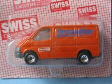 Matchbox Ford Transit Van Ovomaltine Delivery Service Swiss Promo Toy Model Car