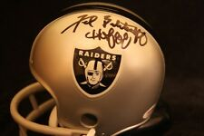 Fred Biletnikoff Signed Oakland Raiders Mini Helmet PSA/DNA