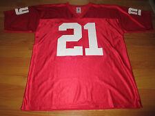 Reebok TIKI BARBER No. 21 NEW YORK GIANTS (LG) Jersey RED