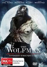 EX RENTAL THE WOLFMAN DVD BENICIO DEL TORO ANTHONY HOPKINS  *GUARANTEED*REG4
